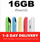 APPLE iPHONE 5C 16GB SMARTPHONE 100% UNLOCKED ALL COLOURS USED