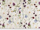 Outdoor & indoor tablecloth, metrage fabric, acrylic coated, digital, flowers