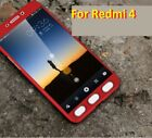 LUXURIOUS 360 Degree Fully Protective Front + Back Cover Case For Xiaomi Redmi 4