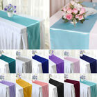 "5 10 20 x 12""x108"" Table Runner Satin Wedding Party Banquet Decoration Runners"