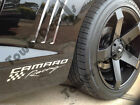 Chevy Camaro Racing Side Skirt Fender Vinyl LS LT RS SS ZL1 Z28 3 decals incl <br/> 3 Decals Included, Fits All Years And Models Camaro