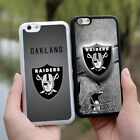 Oakland Raiders National Football League Rubber Case Cover For iPhone SE 6s Plus $8.99 USD on eBay