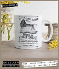 American Cocker Spaniel Mug ~ Perfect Gift can be personalised ~ Vintage style