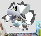 New Super Mario Bros Smashed Wall Decal 3D Sticker Decor ...