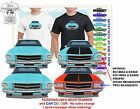 CLASSIC 71-74 HQ HOLDEN SEDAN FRONT ON ILLUSTRATED T-SHIRT MUSCLE RETRO CAR