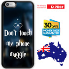 TPU Rubber Shockproof Bumper Case Harry Potter Theme Don't Touch My Phone Muggle