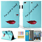 Various Pattern Leather Smart Flip Stand Folio Case Cover For Apple iPad Series