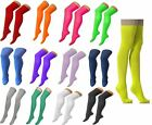 Ladies Womens Over Knee Long Thigh High Plain Stretch Fit Cotton Overknee Socks