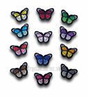 Mini Butterfly Iron / Sew On Embroidered Applique Motif *buy1 get 1 half price*