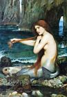Waterhouse Mermaid At Water's Edge Quilt Block Multi Sizes FrEE ShiP WoRld WiDE