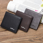Men Wallet Small Front Pocket Credit Card Holders Men Mini Clutch Purse for Mone