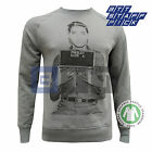 Organic Unisex Womens Mens Elvis Presley Mug Shot Rock Sweater Sweatshirt