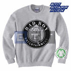 Organic Unisex Womens Mens Bad Boy Entertainment Records Sweater Sweatshirt