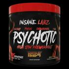 INSANE LABZ PSYCHOTIC PRE WORKOUT 35 Servings - CHOOSE FLAVOR !! FREE SHAKER CUP