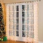 Waterproof 300 Light Beads  Wireless Remote Control Wedding Party Curtain Lights