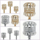 3 pcs Candle Holders Wedding Centerpieces Reception Party Catering WHOLESALE