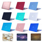 Rubberized Shell Case Cover For Macbook Air Pro 13 11 12 15 Inch +keyboard Cover