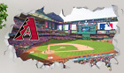 Arizona Diamondbacks Chase Field Wall Decal 3D Sticker Smashed Mural MLB OP130