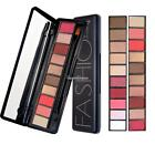 Professional Makeup  Matte Shimmer Eye Shadow Palette with Brush 8# SH