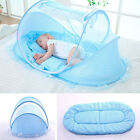 Baby Mosquito Net Tent Mattress Cradle Bed Cushion Pillow Mattress Music Bag HOT