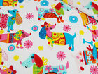 dog pattern fabric