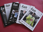 DERBY COUNTY HOME PROGRAMMES 2016/17 CHOOSE FROM