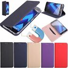 Ultra Slim Flip Leather Magnetic Card Slots Bumper Wallet Case Cover For LG G6