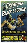 Creature From The Black Lagoon Vintage Movie Poster Reproduction