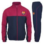 FC Barcelona Official Soccer Gift Mens Jacket & Pants Tracksuit Set