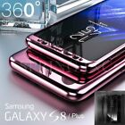 360° Full Cover Hybrid Shockproof Mirror Hard Case For Samsung Galaxy S8 S8 Plus