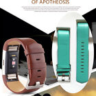 Sports Genuine Leather Watch Band Strap For Fitbit Charge2 Wrist Band Bracelet
