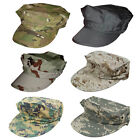 Military Marine Corps Cap Camouflage 8 Point Cover Hat Army Soldier Snapback Cap