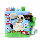 Animal Tails Cloth Book Baby Toy Cloth Development Books Learning Education Gift