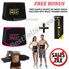 Sweet Sweat Waist Trimmer Belt Burn Fat Easy Weight Loss Workout Slimming Band
