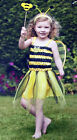 Fancy Dress Stripe Costume Toddlers Outfit Manchester Bumble Bee Girls Wings