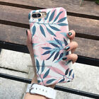 For Apple iPhone 5 X 7 8 Plus Case Shockproof Ultra Thin Pattern Hard Back Cover