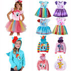 little girls winter dresses - Kids Girls My Little Pony Cosplay Princess Tutu Dress Hoodie Coat Fancy Costumes