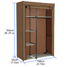New 63  Portable Closet Storage Organizer Wardrobe Clothes Rack with Shelves