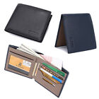 Bifold Leather Business Men Wallets Credit Card Holder ID Wallet Money Clip New
