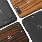 For Oneplus 5 Five Case Black Sandstone Rosewood Ebony Back Cover