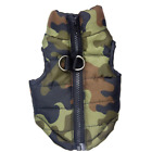 Waterproof Camo Dog Warm Coat Jacket Puppy Padded Vest Winter Supplies Clothing