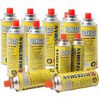 NEW BUTANE CANISTER GAS BOTTLES FOR PORTABLE CAMPING COOKING HEATER STOVE COOKER