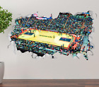 Washington Wizards Stadium Wall Decal 3D Sticker Smashed Decor Vinyl NBA OP203 on eBay