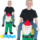 Gnome Piggy Back Ride On Me World Book Day Week Fancy Dress Outfit Carry Costume