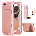 For Apple iPhone 7 8 8 Plus Hybrid Rugged Shockproof Hard Protective Case Cover
