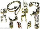 Ear Cuff Stud Earcuffs Earrings Climbing Man Dragon Snake Punk Skull Spider Cat