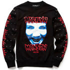 Killstar X Marilyn Manson Pullover - All The Things You Hate Nieten