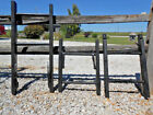 Brightly Colored Canyon Black Rustic Antique 2 Rung Ladder