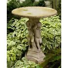 "22"" Birdbath Bella Bimmbi - Water Features - Durable Fiberstone Yard Art"