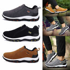 Men's Work Casual Hiking Shoes Short Boot Sneaker Comfy for Climbing Outdoor